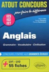 Dernières parutions dans Atout Concours, Anglais ECS ECE ECT. Grammaire, vocabulaire, civilisation