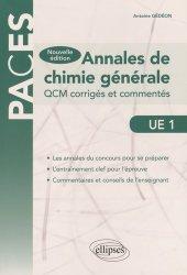 Souvent acheté avec Chimie en QCM, le Annales de Chimie générale  UE1
