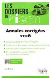 Dernières parutions sur Annales de l'ECN, Annales corrigées 2016