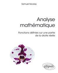 Dernières parutions sur Analyse, Analyse mathématique