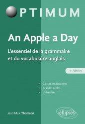 Dernières parutions sur Outils d'apprentissage, An Apple a day