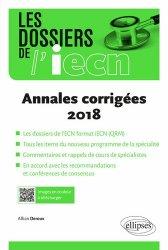 Dernières parutions sur Annales de l'ECN, Annales corrigées 2018