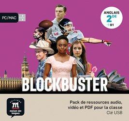Dernières parutions sur 2de, Anglais 2de B1 Blockbuster