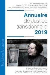 Dernières parutions sur Droit international public, Annuaire de justice transitionnelle