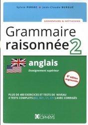Nouvelle édition Anglais Grammaire raisonnée 2