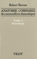 Souvent acheté avec Physiologie animale, le Anatomie comparée des mammifères domestiques Tome 1
