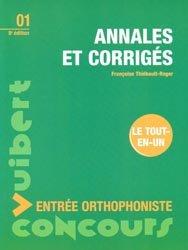 Souvent acheté avec Exercices corrigés de vocabulaire, le Annales et corrigés Entrée orthophoniste
