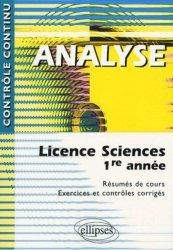 Dernières parutions sur Maths pour les SVT, Analyse Licence Sciences 1ère année