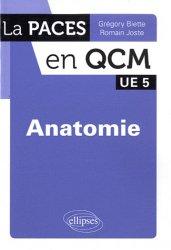 Souvent acheté avec Chimie organique, le Anatomie UE5