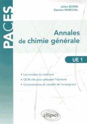 Dernières parutions sur UE1 Chimie générale, Annales de Chimie générale  UE1