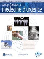 Dernières parutions sur Urgences, Annales françaises de médecine d'urgence N° 6 volume 7