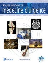 Dernières parutions sur Urgences, Annales françaises de médecine d'urgence N° 1 volume 8