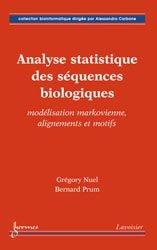 Dernières parutions sur Maths pour les SVT, Analyse statistique des séquences biologiques
