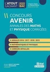 Dernières parutions sur Concours administratifs, Annales du concours Avenir