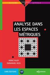 Dernières parutions sur Analyse, Analyse dans les espaces métriques