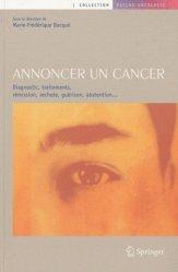 Souvent acheté avec Les annonces en cancérologie, le Annoncer un cancer