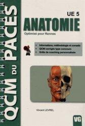 Dernières parutions dans QCM PACES, Anatomie UE 5