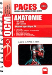 Dernières parutions dans QCM PACES, Anatomie