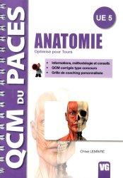 Dernières parutions dans QCM du PACES, Anatomie livre paces 2020, livre pcem 2020, anatomie paces, réussir la paces, prépa médecine, prépa paces