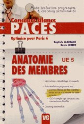 Souvent acheté avec Annales du Concours Paces UE3 - Optimisé pour Paris 6, le Anatomie des membres UE5 Optimisé pour Paris 6 https://fr.calameo.com/read/000015856c4be971dc1b8