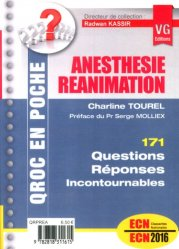 Dernières parutions dans QROC en poche, Anesthésie Réanimation