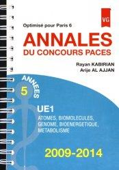 Souvent acheté avec Toute la PACES en fiches, le Annales du Concours Paces UE1 - Optimisé pour Paris 6