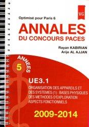 Souvent acheté avec Réussir l'UE 4, le Annales du Concours Paces UE3 - Optimisé pour Paris 6