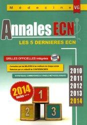 Souvent acheté avec Gériatrie, le Annales ECN 2010-2014