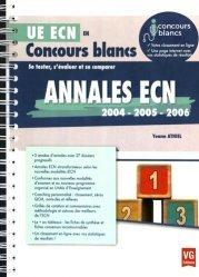 Souvent acheté avec Annales officielles QCM - 1985 à 1994 Tome 3, le Annales ECN 2004, 2005, 2006