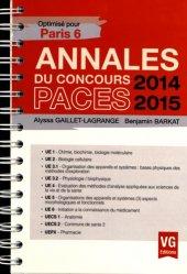 Souvent acheté avec Annales du concours PACES UECS 2, le Annales 2014-2015 Concours PACES - Paris 6