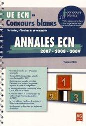 Dernières parutions dans , Annales ECN 2007, 2008, 2009