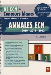 Dernières parutions dans , Annales ECN 2010, 2011, 2012