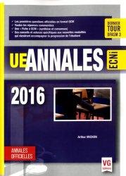 Souvent acheté avec Annales iECN 2016 complètes, le Annales ECN en QCM 2016