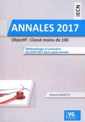 Dernières parutions sur Annales de l'ECN, Annales ECNi 2017