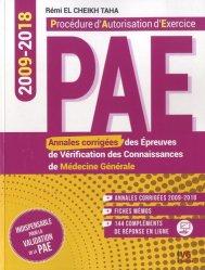 Dernières parutions sur ECN iECN DFASM DCEM, Annales de médecine générale PAE 2009-2018