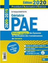 Dernières parutions sur ECN iECN DFASM DCEM, Annales de gériatrie 2009-2019 PAE