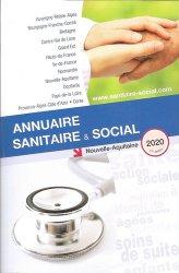 Dernières parutions sur Travail social, Annuaire sanitaire et social Nouvelle Aquitaine. Edition 2020