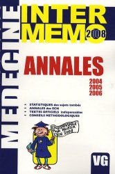 Souvent acheté avec Épreuves Classantes Nationales 2009, le Annales 2004 2005 2006