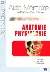 Souvent acheté avec Hygiène, le Anatomie physiologie