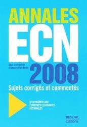 Souvent acheté avec Épreuves Classantes Nationales 2009, le Annales ECN 2008