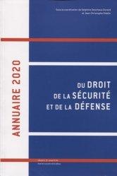 Dernières parutions sur Autres ouvrages de droit public, Annuaire du droit de la sécurité et de la défense
