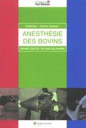 Dernières parutions dans Carnet clinique, Anesthésie des bovins