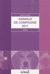 Souvent acheté avec Pathologie comportementale du chien, le Animaux de compagnie 2011