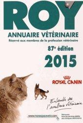 Dernières parutions sur Vétérinaire, Annuaire vétérinaire ROY 2015