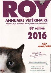 Dernières parutions sur Vétérinaire, Annuaire vétérinaire ROY 2016