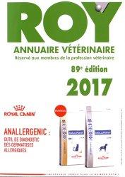 Nouvelle édition Annuaire vétérinaire Roy 2017
