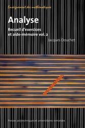 Dernières parutions dans Enseignement des mathématiques, Analyse (Volume 2)