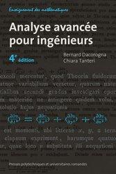 Dernières parutions sur Maths pour l'ingénieur, Analyse avancée pour ingénieurs
