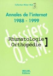 Souvent acheté avec Épreuve orale  Entrée en IFSI, le Annales de rhumatologie 1988-1999