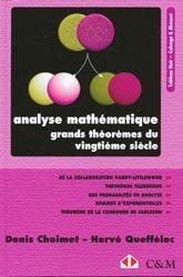 Souvent acheté avec Cours d'algèbre , le Analyse mathématiques